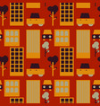 neghborhood streets seamless pattern vector image vector image