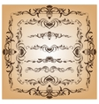 Set of borders and frames for design