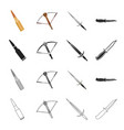 defense army armament and other web icon in vector image vector image