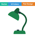 Flat design icon of Lamp vector image vector image