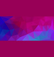 flat violet color geometric triangle wallpaper vector image vector image