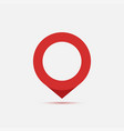 location pin pin icon location map gps symbol vector image vector image