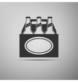 Pack of Beer icon vector image vector image