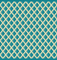 seamless rhombus grid pattern geometric texture vector image vector image