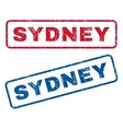 Sydney Rubber Stamps vector image vector image