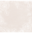 Vintage Rose Ivory Background vector image vector image