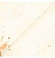 vintage sheet paper vector image