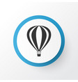 air balloon icon symbol premium quality isolated vector image