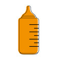 baby bottle icon image vector image vector image