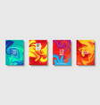 colorful abstract geometric background liquid