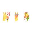 cute lama character showing tongue and smoking vector image vector image