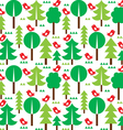 Finnish inspired seamless folk art pattern vector image vector image