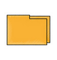 folder file document information digital app icon vector image