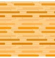 Geometric pattern of orange ovals vector image