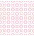 seamless pattern in light pink and white colors vector image vector image