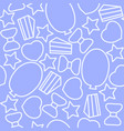 seamless pattern with celebration elements for vector image
