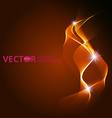 Abstract red background with flame vector image