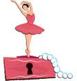 ballet dancer children vector image vector image