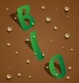 bio design vector image vector image