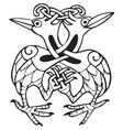 Celtic design vector image vector image