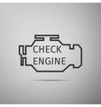Check engine icon vector image