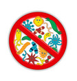 keep clean everywhere vector image