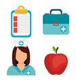 Medical digital design vector image