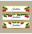 NewYearBanners vector image