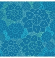 Seamless flower lace pattern vector image vector image