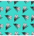 Seamless pattern with insects vector image vector image