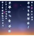 stars night vector image vector image