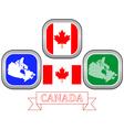 symbol of CANADA vector image