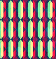 vintage diamond seamless pattern with grunge vector image