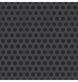 Abstract Dotted Seamless Steel Background vector image vector image
