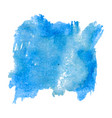 blot template blue watercolor vector image