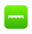 direct bridge icon digital green vector image vector image