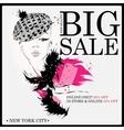 Fashion shopping design vector image vector image