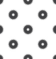 industrial saw seamless pattern vector image vector image