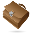 Isometric icon of brief-case vector image vector image