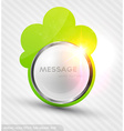 Metal Banner Background vector image