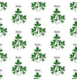 parsley seamless pattern vector image vector image