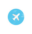 plane icon sign symbol vector image