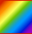 rainbow abstract blurred background an vector image vector image