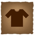 T-shirt sign Vintage effect vector image