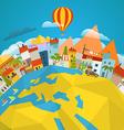 Travel concept around world