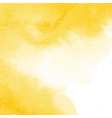 Yellow watercolor texture background hand painted