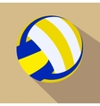 Volleyball Single color flat icon vector image