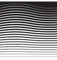 Halftone Pattern from Lines vector image