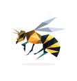 polygon bee art image