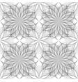 seamless flower of life symbol square template vector image